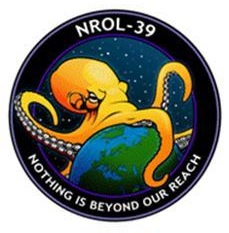 US spy agency launched this Earth-conquering octopus logo into orbit