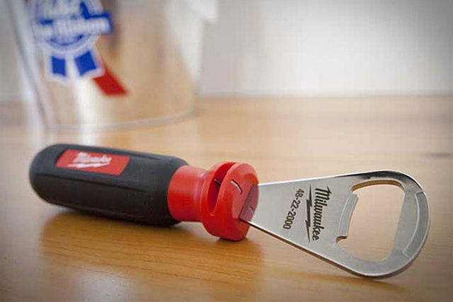 A Combination Bottle Opener and Wire Stripper Is Just Useful