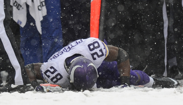 "Adrian Peterson Says Baltimore Has ""The Worst Fans In The NFL"""