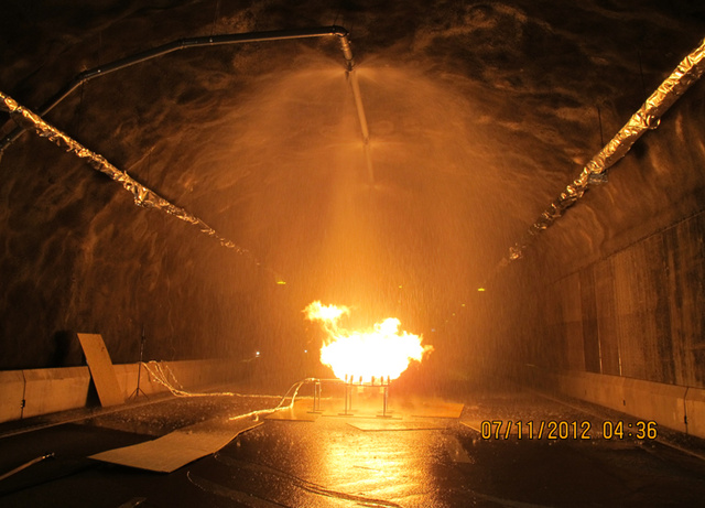 This Norwegian Road Tunnel Exists Solely to Set Fire to Things