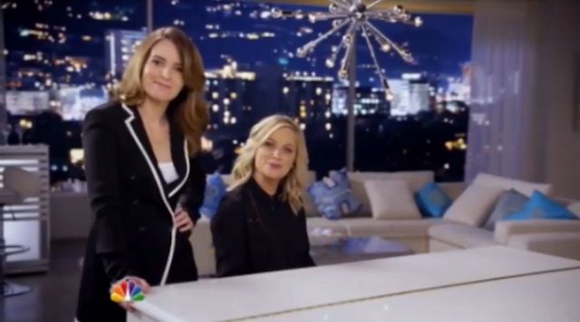 Golden Globes Hosts Poehler and Fey Are Ready to Sing Like Songbirds