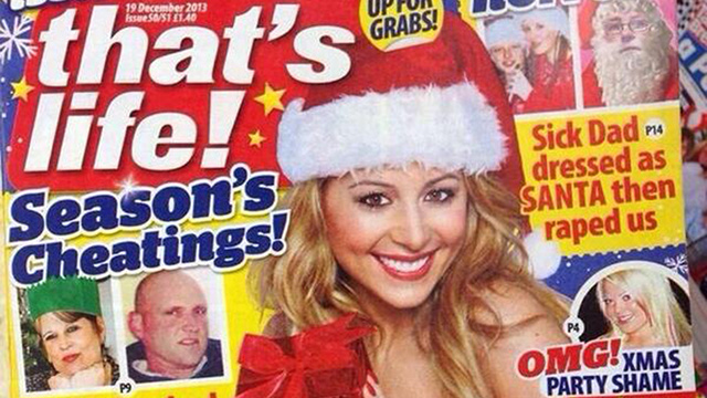 Have a Horrible Christmas With This Insane Issue of That's Life! Mag