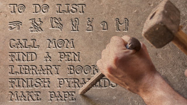 The History of the To-Do List (and How to Make Yours More Effective)