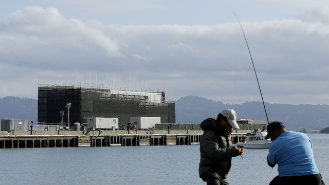 Work on Google's Mysterious Barge Mysteriously Halts