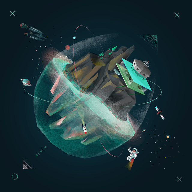 14 Fresh Pieces of Space Art for Your Viewing Pleasure