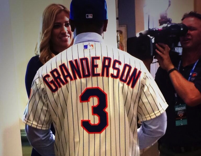 "Curtis Granderson: ""True New Yorkers Are Mets Fans"""