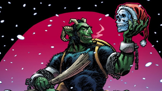 ​Can a child-beating demon save Christmas in This Week's Comics?