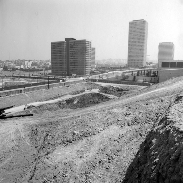 How Los Angeles Erased Hills From Its Urban Core