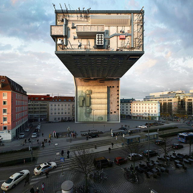 Whoa, Watch This Hotel in Munich Get Transformed in 88 Different Ways