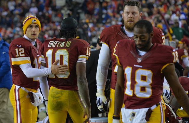 RGIII Benched For Kirk Cousins