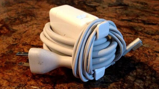 The Best Way to Wrap Your MacBook's Power Cord