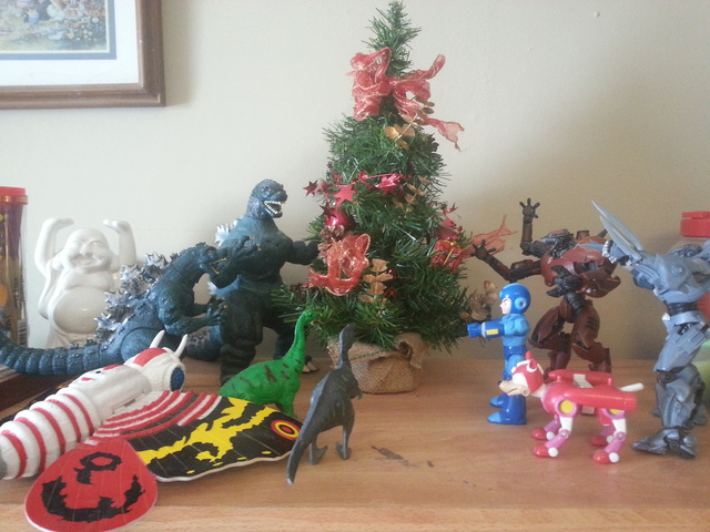Behold my nerdy Christmas tree!