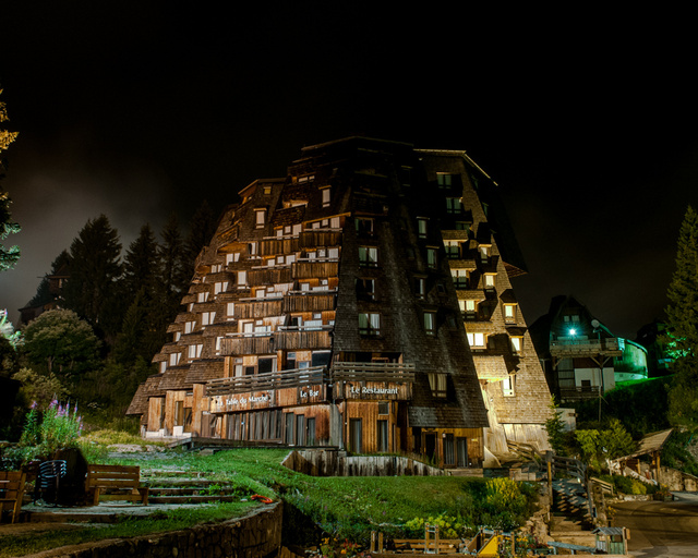 The Other-Worldly Architecture Of Avoriaz, A Ski Resort In France