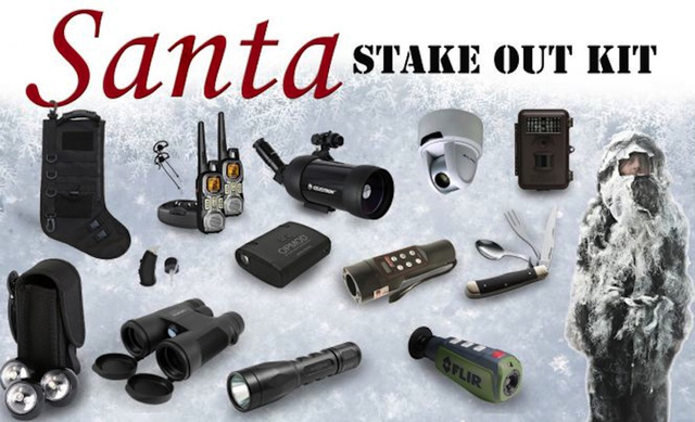 This $6500 Santa Stakeout Kit Means Father Christmas Is Going Down