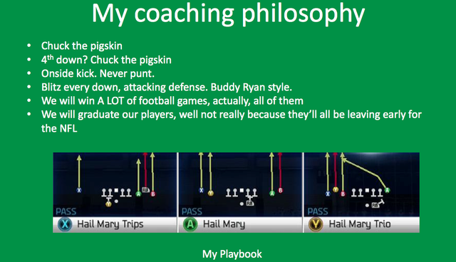 Man Applies For UND Head Coach Job, Cites Playing <i>Madden</i> As Experience