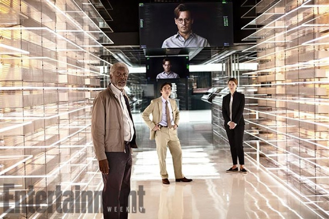 First look at Johnny Depp's robot creation lab in ​Transcendence