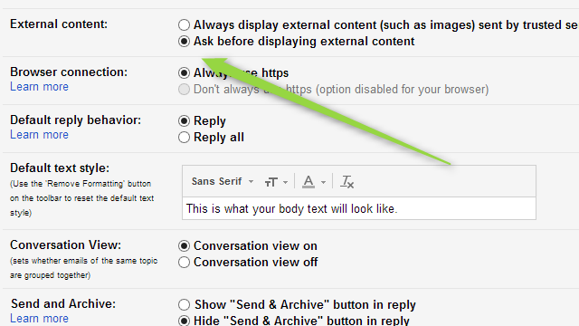 Disable Automatic Image Loading in Gmail to Save Data and Privacy