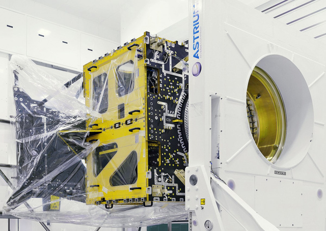Inside the Incredible, Complex Factories Where Satellites Are Born