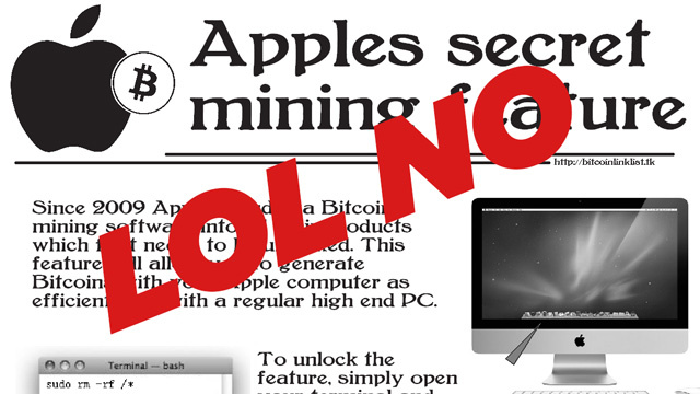 There's an Apple Bitcoin Prank That's Hilarious and Devastating