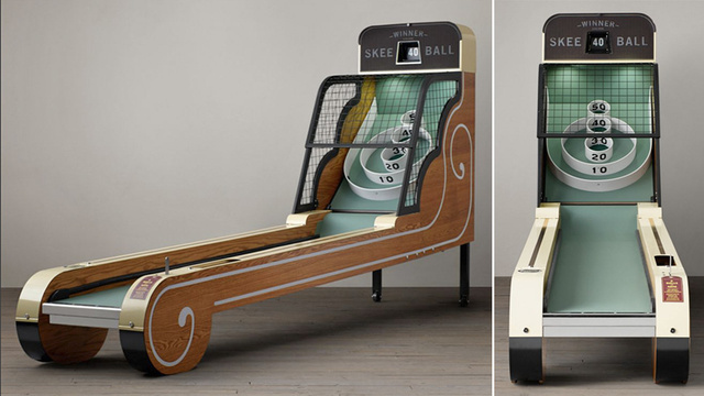 You'll Make Room For This Stunning Vintage Skeeball Game