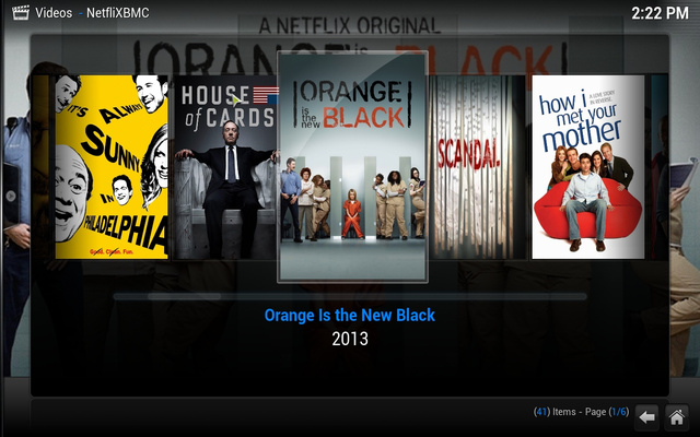 NetfliXBMC Brings a Better, Remote-Controlled Netflix to XBMC