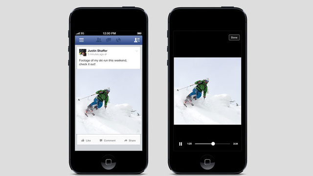 WSJ: Facebook's Autoplay Video Ads Will Arrive This Week