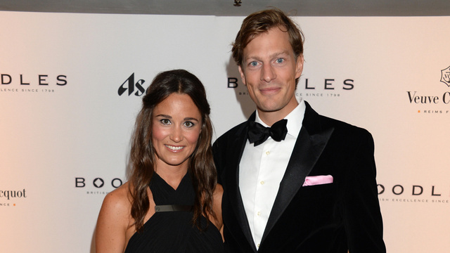 Pippa Middleton's Butt and Rest of Body Are Engaged