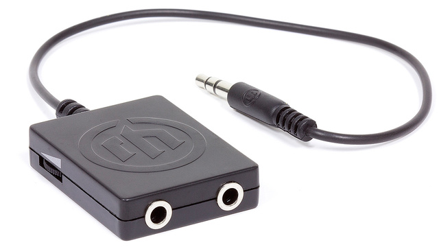 A Headphone Splitter That Lets Each Listener Control Their Own Volume