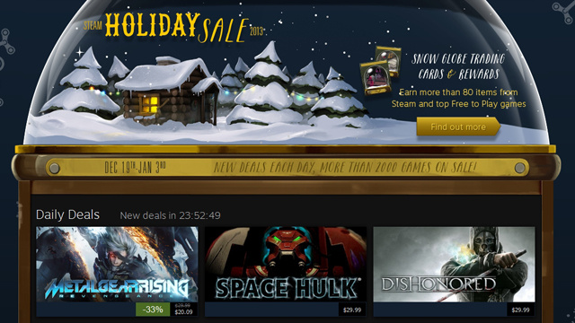 Steam's Holiday Sale Is On, Now Through January 3rd