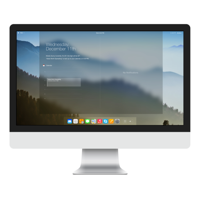 This iOS-Inspired OS X Concept Looks Good Enough to Touch