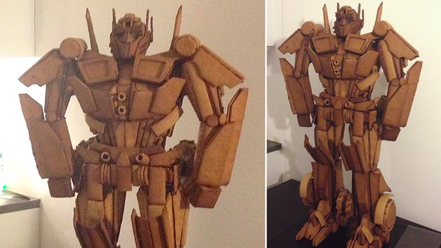 Incredible Optimus Prime Gingerbread Man Transforms Into Deliciousness