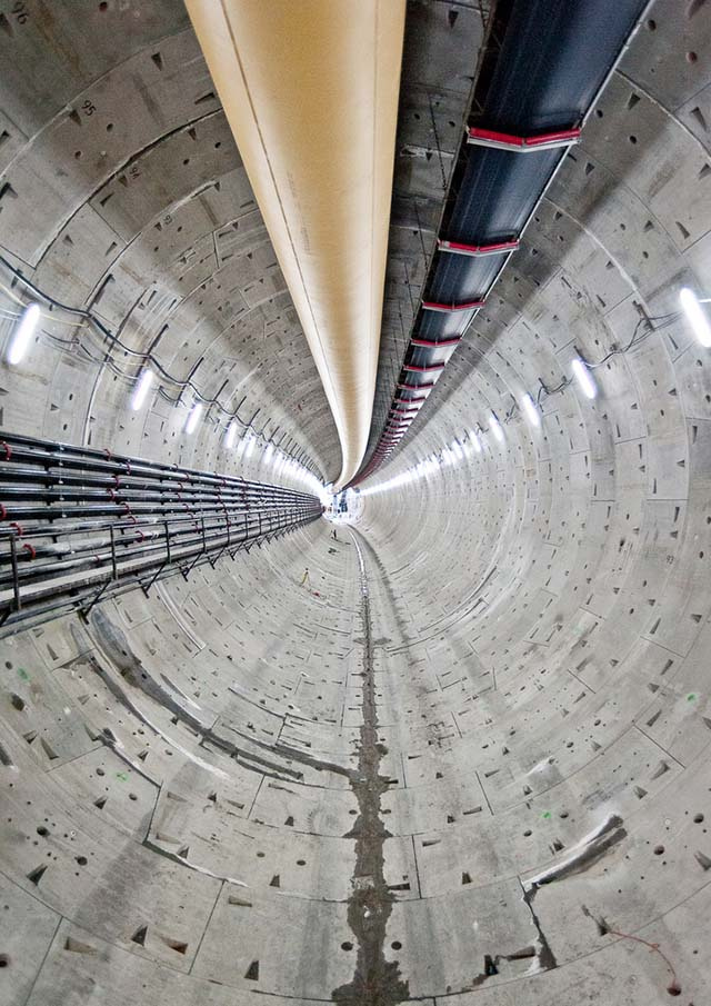 "Mysterious ""Object"" Stops World's Largest Tunneling Machine"