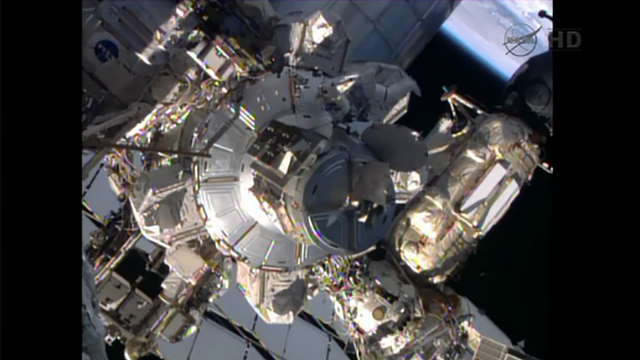 Watch Today's ISS Spacewalk Live, Right Here, Right Now