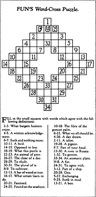 The Fascinating History of the Crossword, the Original Mobile Game