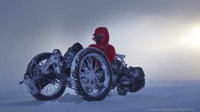 This Tricycle Is Headed Across the South Pole