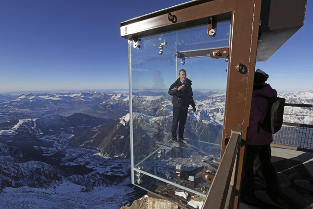 This Glass Room Lets You Float Over of One of the Alps' Highest Peaks