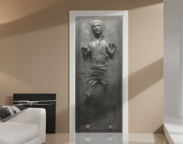 Turn Any Door into Han Solo Stuck in Carbonite