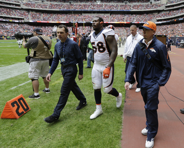 Von Miller's Out For The Season, And The Broncos Are An Injured…