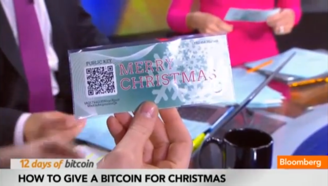 A TV Anchor Tries to Gift Bitcoin On Air, Is Immediately Robbed