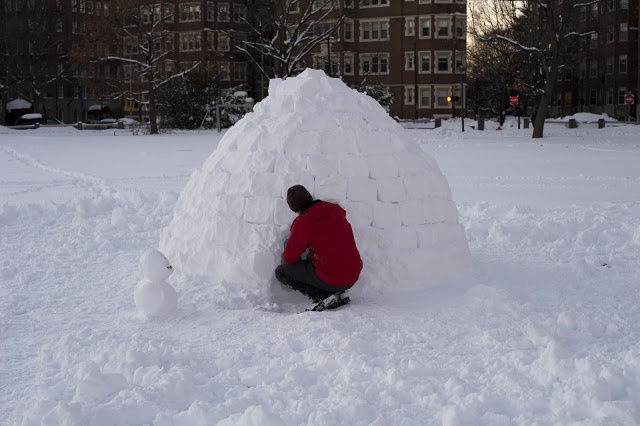 Forget Frosty: Here's How To Make Your Very Own Urban Igloo