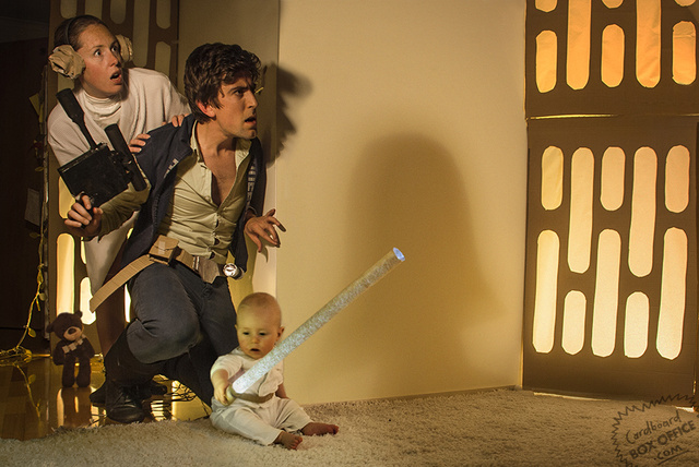 Awesome parents recreate famous movie scenes with their adorable baby