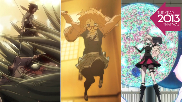 The Five Best Anime of 2013