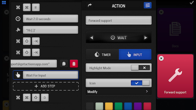 "Actions for iPad Adds ""Flows"" for More Complex Keyboard Shortcuts"