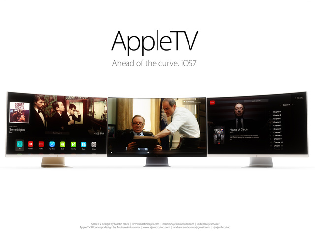 I would totally buy this awesome Apple curved HDTV