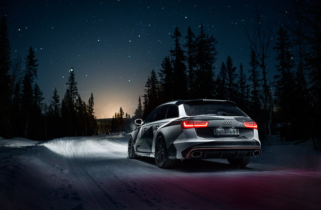 This Badass RS6 Wagon Is Jon Olsson's New Winter Ride