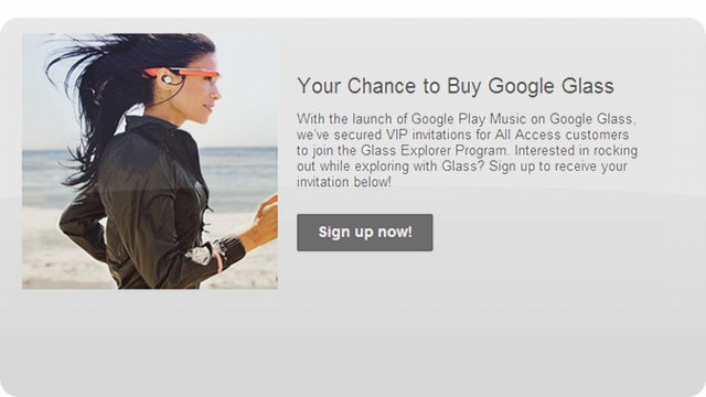 If You've Got Google Music All Access, You Can Get Glass Now