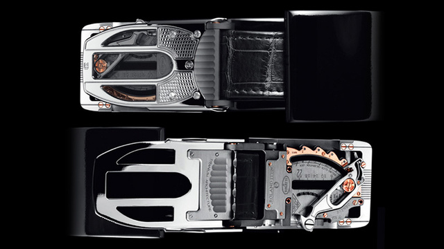 The Finest Swiss Watchmaking Techniques Went Into This—Belt Buckle?