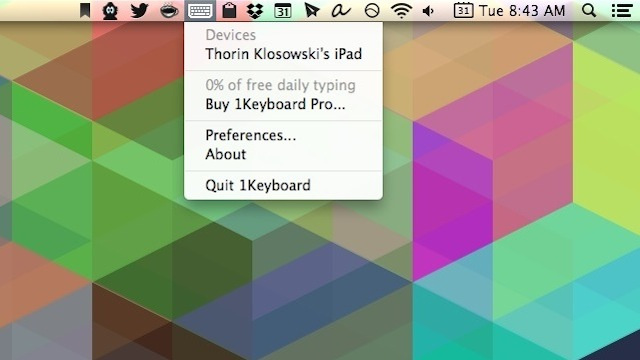 1Keyboard Connects Any Mac