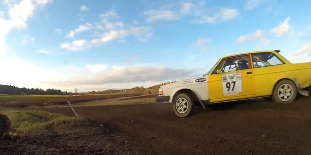 This Year In Volvo 240 Rallying