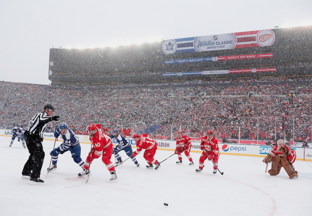 The Winter Classic Looks Awesome As Always
